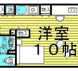 中崎町にある法人転勤者向け家具家電付きマンション♪