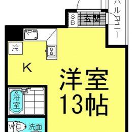 1R・02号・31㎡(間取)