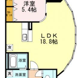 1LDK 09号 57.55㎡(間取)