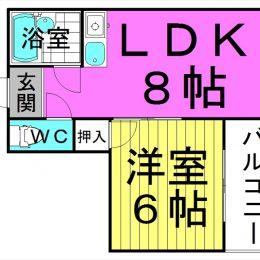 1LDK・32㎡(間取)