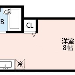 1R・21.15㎡(間取)