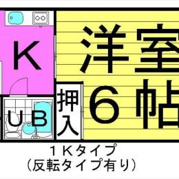 1K・19.43㎡(間取)