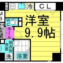 1R・Aタイプ・27.09㎡(外観)