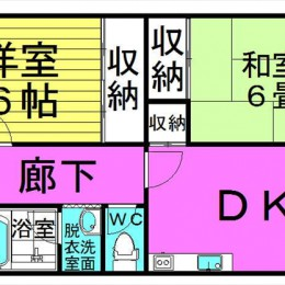 2LDK・52.65㎡(間取)
