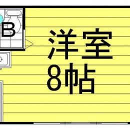 1R・18㎡(間取)