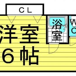 1R・23㎡(間取)