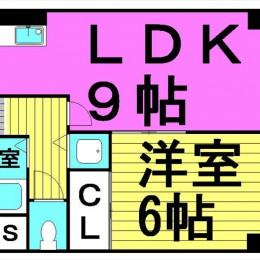 1LDK・37.31㎡(間取)