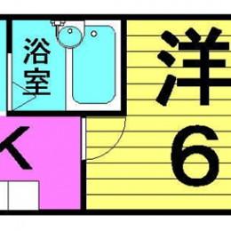 1K・セパレートタイプ(間取)