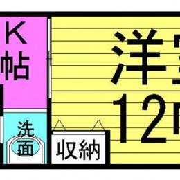 1DKタイプ・35㎡(間取)