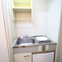 冷蔵庫付いてます(キッチン)