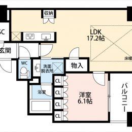 1LDK・55.66㎡(間取)