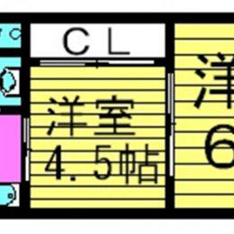 2K・30㎡(間取)