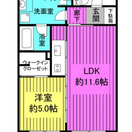 1LDK・41.20㎡(間取)